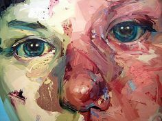eyes painteers detail - Cerca amb Google