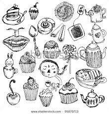 Tea party items.
