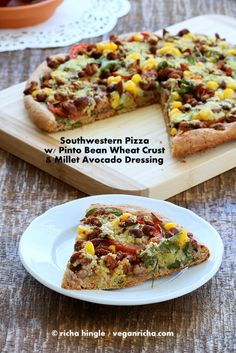 Southwestern Special Pizza and Heart Healthy Pizza Review and Giveaway. | Vegan Richa
