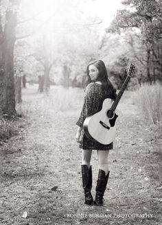 Senior Picture / Photo / Portrait Idea - Musician - Band - Guitar - Girls