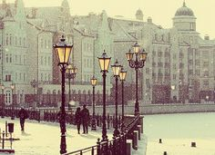 Snowy Day, Kaliningrad, Russia photo via chaos Oh The Places You'll Go, Places To Visit, Vintage Films, Snowy Day, Snowy Weather, Eastern Europe, Wonders Of The World, Winter Wonderland, Ukraine