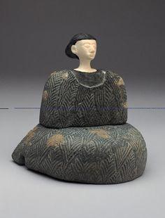 Bactrian Composite Seated Female Figure