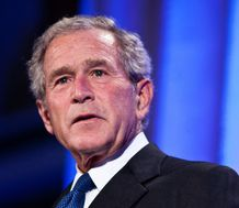 George W Bush says he doesn't miss being President.  Finally we agree on something!!!