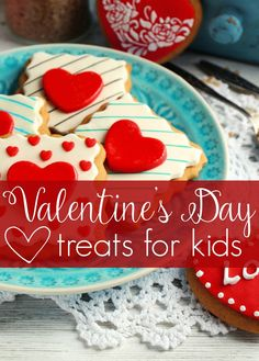 Valentine's Day Treats for kids. Find a yummy recipe idea for your kids class…