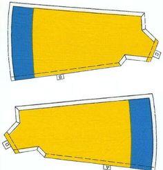 Patrones Vestido amarillo Nancy 2