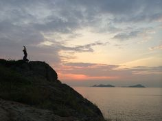 Sunrise yoga on Tung Lung Chau | Camping in Hong Kong
