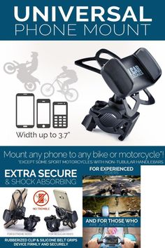 Searching for a handy good quality bike mount for your phone, but you do not feel like spending your time choosing the best variant?  You don't have to, we have done it for you!  We have thoroughly studied nearly all bicycle and motorcycle holders you can buy on US market  #CAR #Accessories #Smartphone #GPS Universal #Bicycle #Phone Bike Motorcycle #Mount CAW