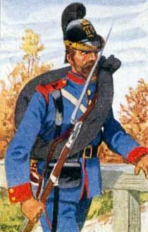 Bayerische Artillerie, Pioniere, Train und Landwehr - Landwehrmann d. Landw.-Batls. Nr. 2.