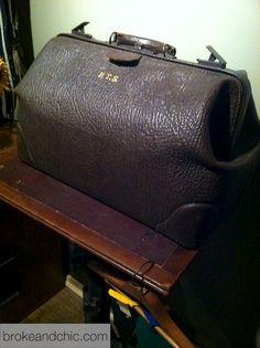 Vintage Medical Bag My Dad S Was Brown