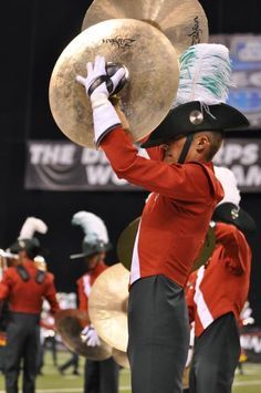 Santa Clara Vanguard has the most badass cymbal line