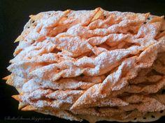 Faworki - Chrust - Przepis - Słodka Strona Pie, Desserts, Food, Torte, Tailgate Desserts, Cake, Deserts, Fruit Cakes, Essen