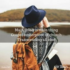 The Gospel is the most important identity any church can have. It's more important than grace, Bible, theology, programs, and missions. Haiku, Haikou