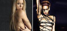 Shakira y Rihanna compiten en sensualidad