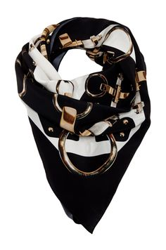 Givenchy Icon Buckle Scarf
