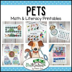 These Pets same and different games will help pre-k and kindergarten kids practice and build visual discrimination skills. Children need visual discrimination skills to help them identify letters and