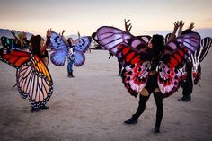 30 Brilliant Burning Man Costumes to Buy and DIY via Brit + Co. Obsessed with the butterfly wings