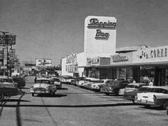 Sunland shopping center in the 60\'s