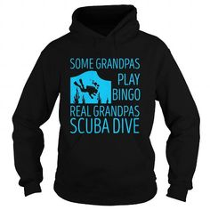 Real Grandpas Scuba Dive  LIMITED TIME ONLY. ORDER NOW if you like, Item Not Sold Anywhere Else. Amazing for you or gift for your family members and your friends. Thank you! #diving #shirts
