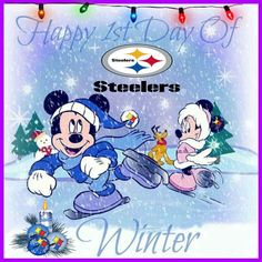 Steelers Pics, 1st Day, Winter, Happy, Anime, Art, Winter Time, Art Background, Kunst
