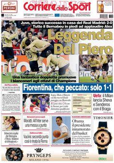 Del Piero vs. Real Madrid #standingovation