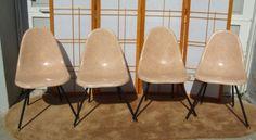 San Francisco: 4 Mid-Century Fiberglass Chairs $300 - http://furnishlyst.com/listings/1138584