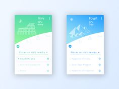 Travel App by Vishikh