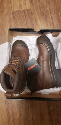 f75817e024c 10 Best Wolverine Work Boots images in 2014 | Shoe boots, Man ...