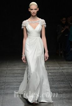 Brides: Hayley Paige - Spring 2013   Bridal Runway Shows   Wedding Dresses and Style   Brides.com