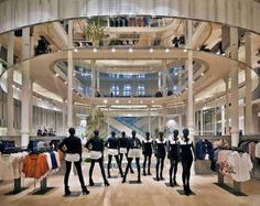 THE SHOP LOCATOR: Zara Flagship Store by Duccio Grassi Architects. Rome.
