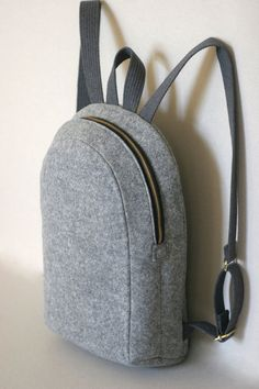 MACBOOK 13 FELT RUCKSACK backpack felt bag by FUTERAL on Etsy