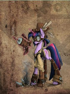 My Little Pony Goes Steampunk! - Mindhut - SparkNotes