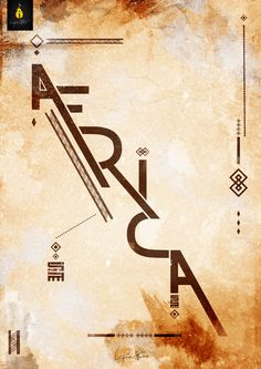 I AM AFRICA | Typeface VIDetails: http://www.behance.net/gallery/I-AM-AFRICA-Typeface-VI/8408275© Insfire Studios - www.insfirestudios.comWe Love Africa | We love you too