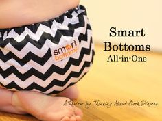 The Smart Bottoms all-in-one diaper has quickly become a stash favorite.  In addition to being downright adorable, Smart Bottoms is everything a beginner to cloth diapers could want - simple to put on, easy to wash, great fitting, absorbent, and organic too!  Find out what we liked about it and what we'd change in this review.