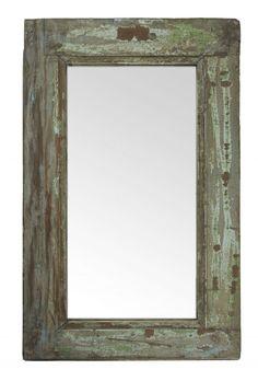 Zrcadlo v masivním rámu Bella Rose, Recycled Wood, Oversized Mirror, Outdoor Living, Recycling, Interior, Creative, Furniture, Ideas Para