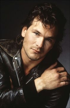 PATRICK SWAYZE Um not going to lie, I had this poster and a couple more of him on my back of my apartment door