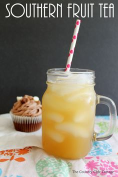 Make this Southern fruit tea recipe for your family! They will love it!
