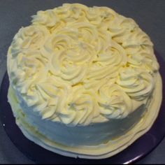 Raspberry and lime curd chiffon cake with marscapone and whipped cream.