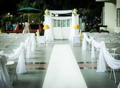 Simple outdoor wedding with Amadoll Events. https://www.facebook.com/AmadollEventPlanning