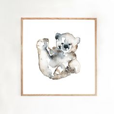 BEAR HUG by Matilda Svensson Size 50X50 cm180 gr matt paperNUMBERED EDITION, 75 pieces.Signed.BEAR HUG is printed at one of the oldest and most prestigious printing houses in Sweden, CA Andersson in Malmö.
