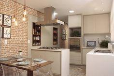 Uma casa para quem ama a cozinha e os amigos! - Homify