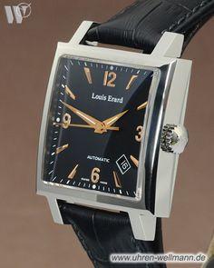 Louis Erard Carree Date 69500AA02, Herrenuhr, Automatik