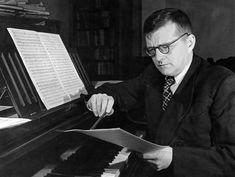 Dimitri Shostakovich (1906-1975) compositor russo