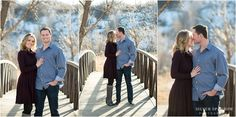 I LOVED this winter engagement session in Colorado! The sunset light was amazing! Their wardrobe was perfect - a grey sweater dress and blue sweater are perfect for this setting  winter engagement photo, Colorado engagement, Denver Engagement Photographer, Outdoor Winter engagement photo, what to wear for a winter engagement photo shoot, snowy engagement photo, Denver Wedding Photographer, Silver Sparrow Photography, Colorado Wedding Photographer, Wedding Photographer