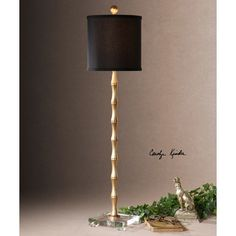 """Found it at Wayfair.ca - Quindici 37"""" H Table Lamp with Drum Shade271"""