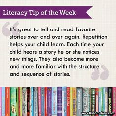 Great #Literacy #Tip for parents to raise #readers!