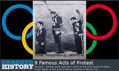 9 Famous Acts of Protest - http://www.crackedhistory.com/9-famous-acts-protest/