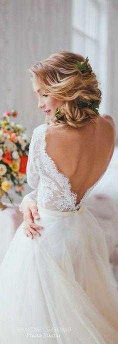 Lavender Blush, Misty Rose, Two Piece Wedding Dress, Alternative Wedding Dress , Long Sleeve Tulle Dress,sexy wedding dress, bridal gowns #weddingdress #wedding #weddingideas #ad