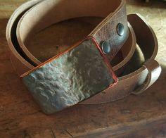 Made in Canada  HypoAllergenic  Hand Forged Belt by ironartcanada  https://www.etsy.com/ca/shop/ironartcanada