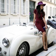 Nausheen Shah - A Shah's Life wearing Isabel Marant and Gucci in Paris Haute Couture Parisienne Chic, Morgan Cars, Triumph Tr3, Triumph Sports, High End Cars, Mens Toys, British Sports Cars, Mens Fashion Week, Street Style Looks