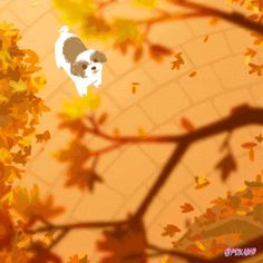 cute, dog, gif, photoshop, painty, Olivia Huynh